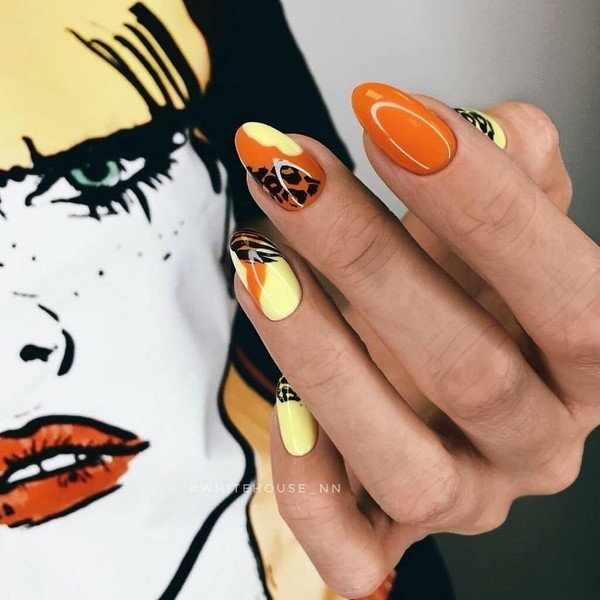 Тренды в модном осеннем маникюре 2020-2021: лучшие фото-новинки осени