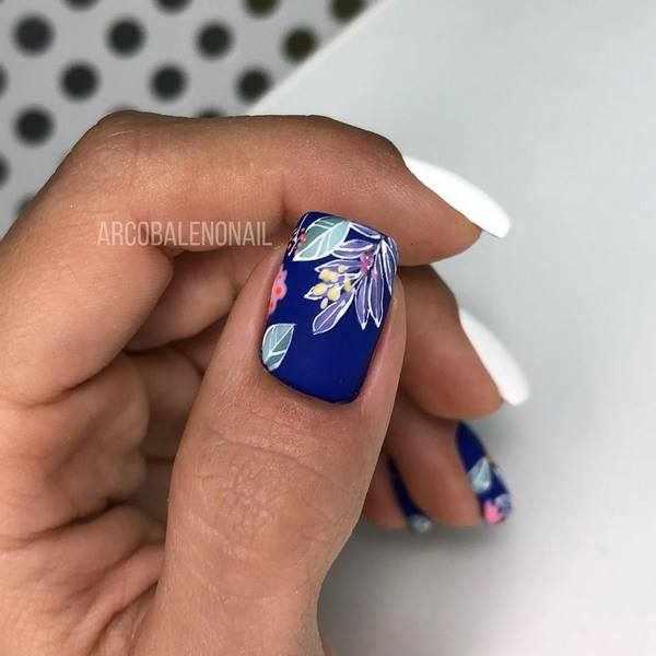 Креативные рисунки на ногтях: новые образы нейл-арта 2020-2021 на топ-15 трендов