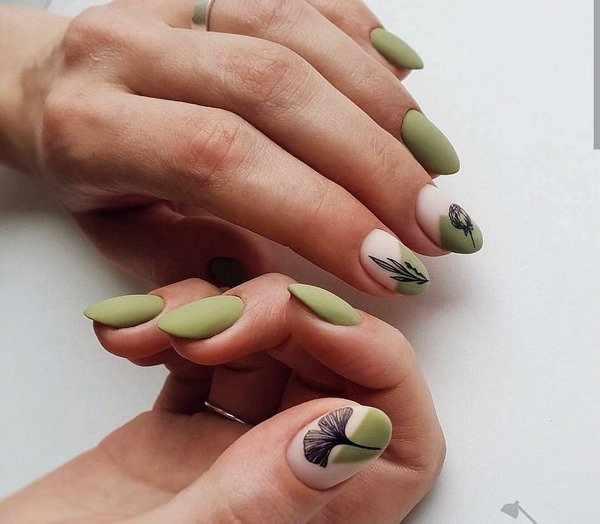 Новый тренд в маникюре 2020-2021: дизайн ногтей «разные ручки» - лучшие фото-новинки