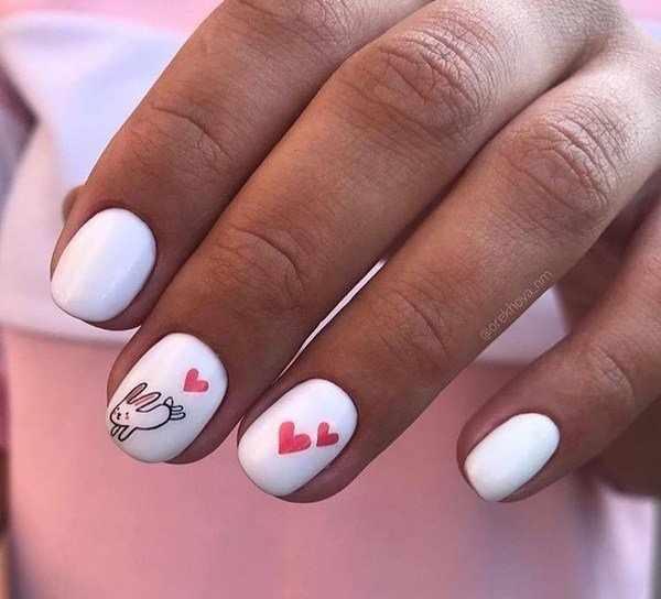 Очаровательный маникюр на День Валентина: модные новинки и ТОП-14 трендов на фото