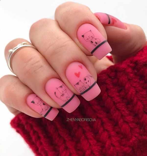 Топовые примеры маникюра на квадратные ногти 2020-2021 – новые образы и стили