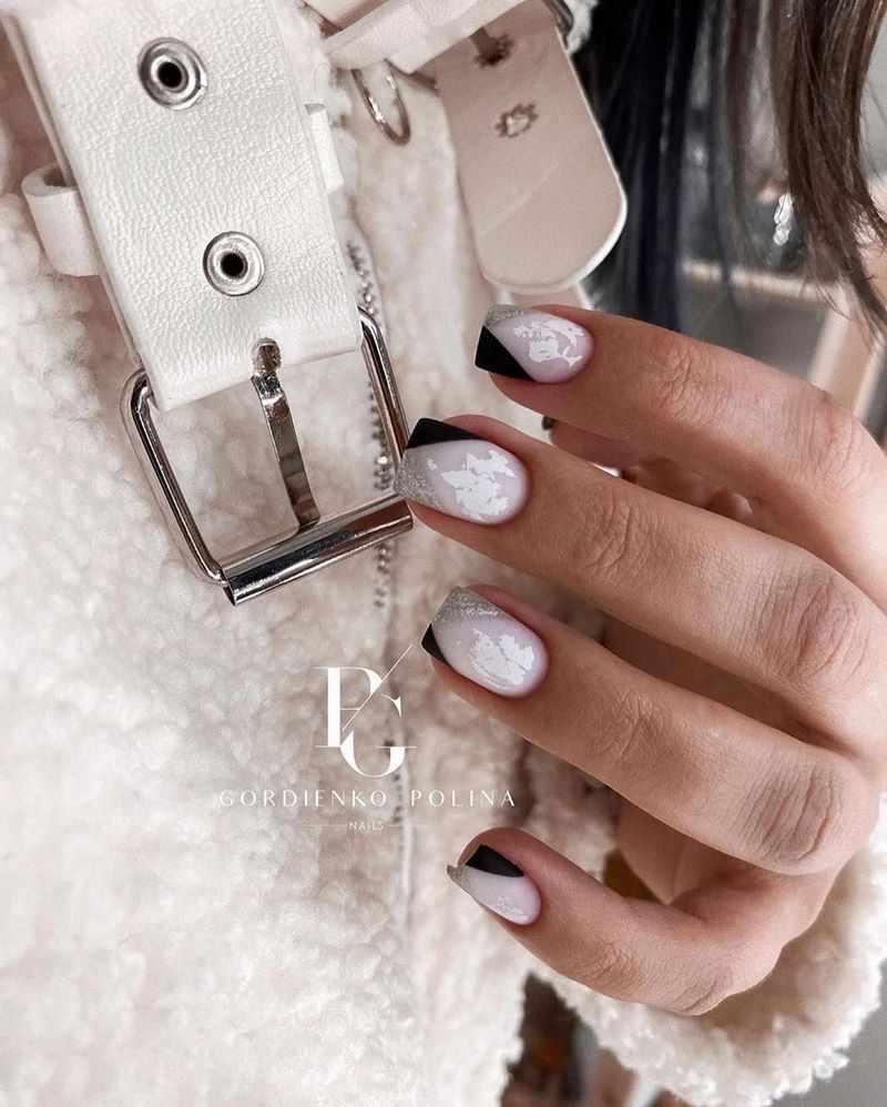 Модный цветной френч маникюр 2020-2021 – актуальные оттенки и дизайн