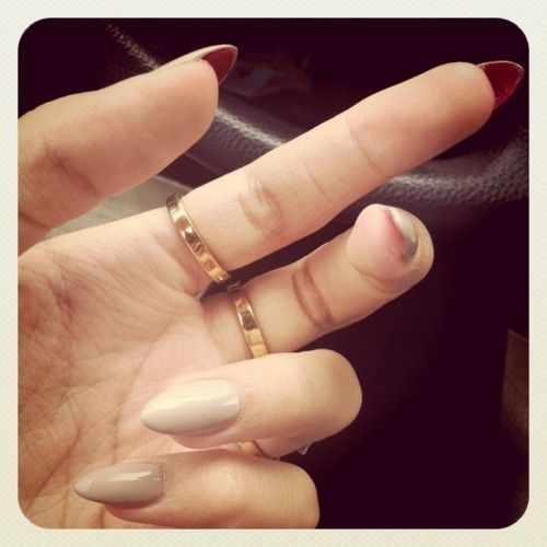 дизайн ногтей лабутен
