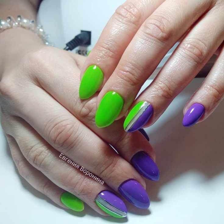 36 фото фиолетовый маникюр идеи красивого дизайна ногтей