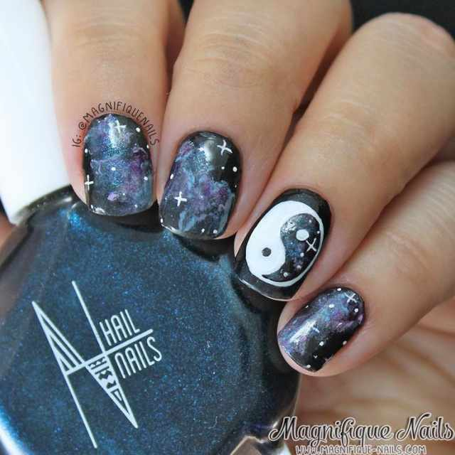 nails yin yang space