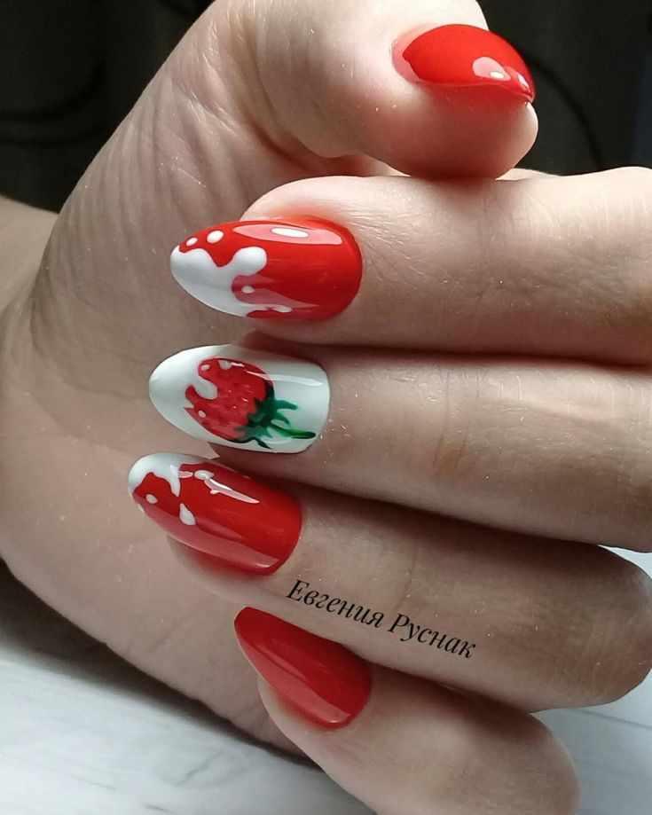 красивый дизайн ногтей 2018