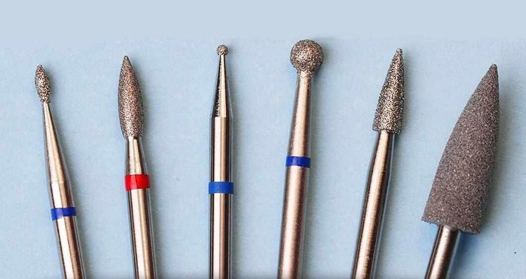 Виды фрез для маникюра. Основные типы насадок, используемые в работе мастерами