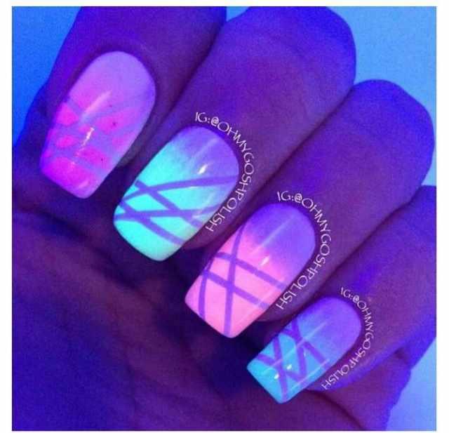 unusual nail design 2015 photos news neon