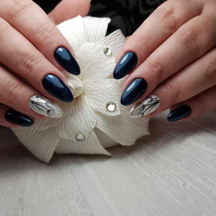 31 фото арт дизайн ногтей осень