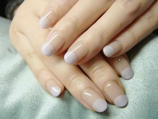 маникюр бежевого цвета beige manicure