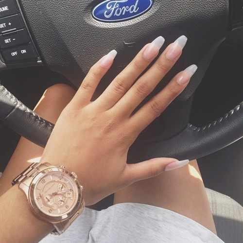 transparent nail design прозрачный маникюр руль форда manicure with transparent tips
