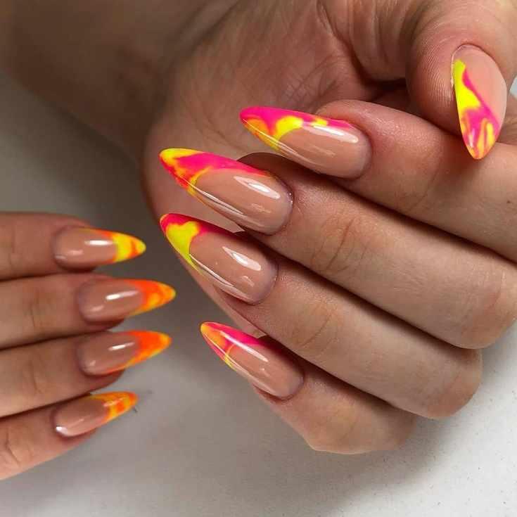 32 фото розовый дизайн ногтей