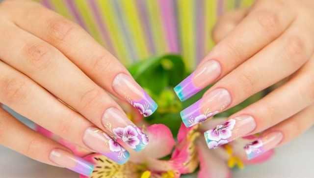 модный дизайн ногтей от чемпионов прямые ногти design of extension of long nails