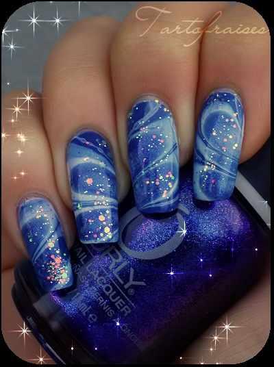trendy nail design 2015