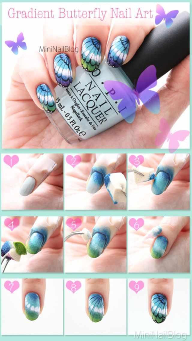 дизайн ногтей пошагово фото инструкция nail design step by step instructions