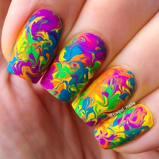 trendy nail design 2015 наркоманский маникюр
