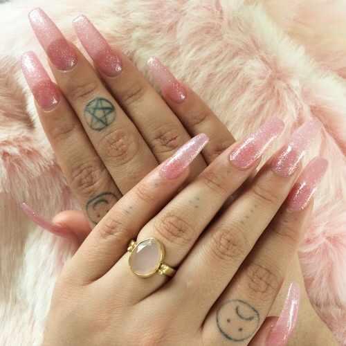transparent nail design прозрачный маникюр розовый manicure with transparent tips