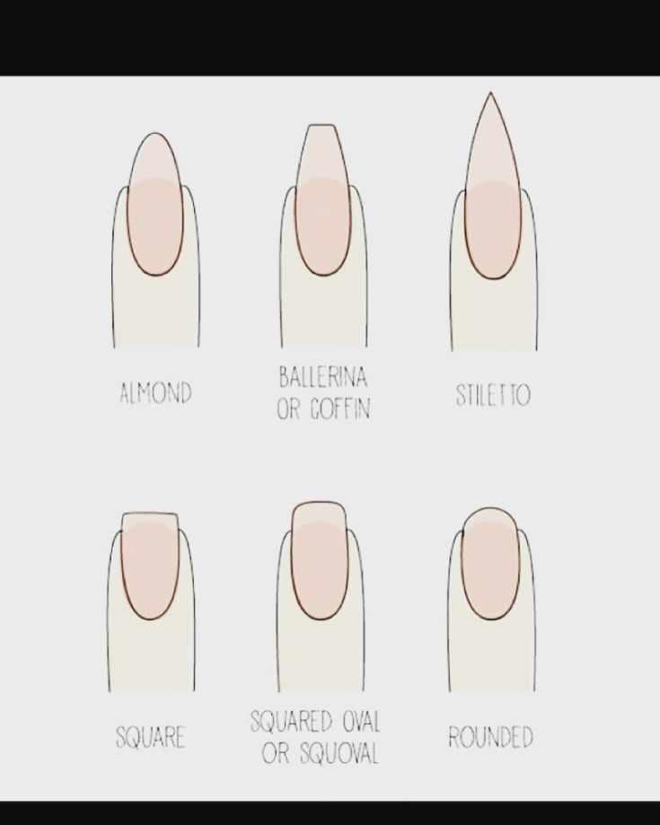 маникюр острые длинные ногти стилеты 2018