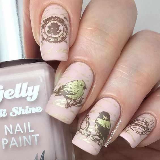 дизайн ногтей 2016 фото новинки осень nail design 2016 autumn photos news