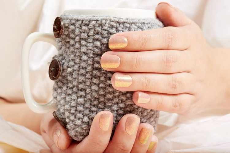 Осень 2020 модные маникюр на короткие ногти