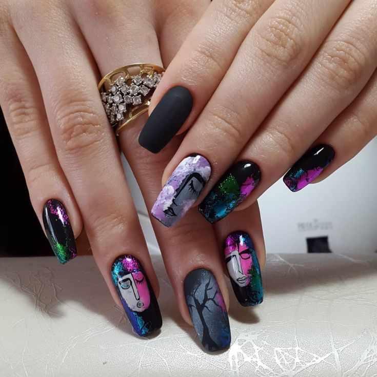 Элегантный дизайн ногтей