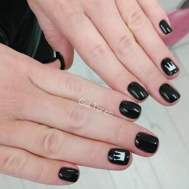60 фото дизайн ногтей с короной