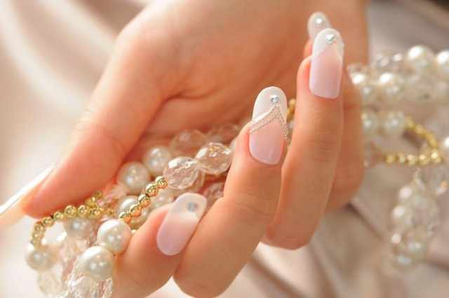 trendy nail design 2015 прозрачные