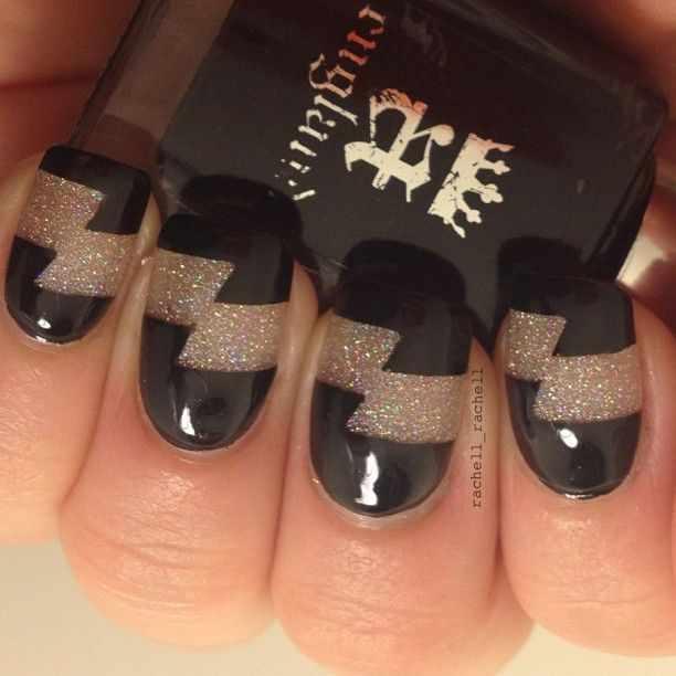 unusual nail design 2015 photos news black