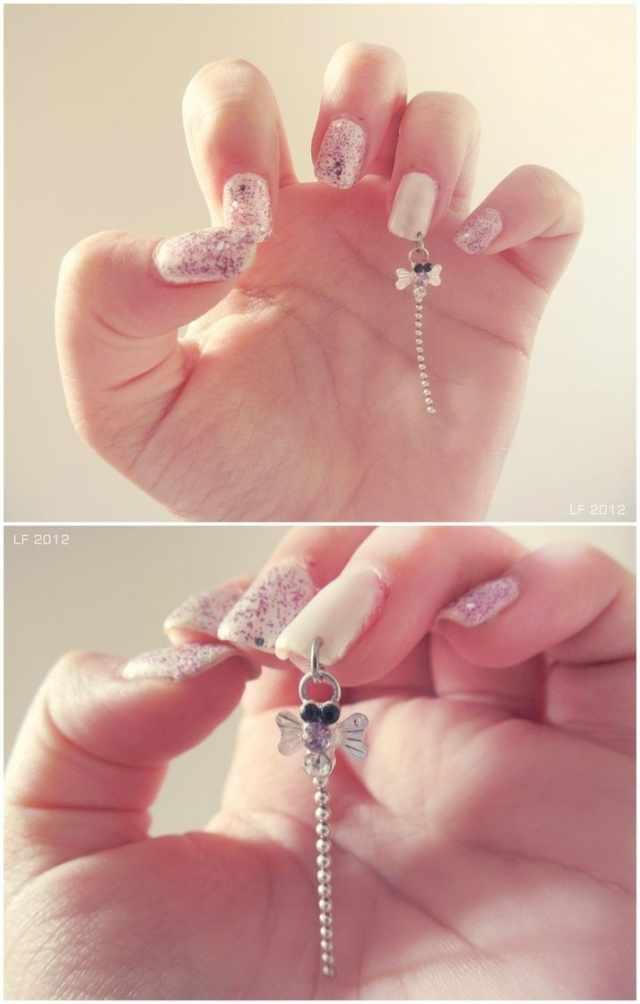 Nail piercing photo пирсинг ногтей стрекоза nail design piercings