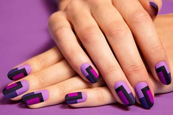 trendy nail design 2015 матовый