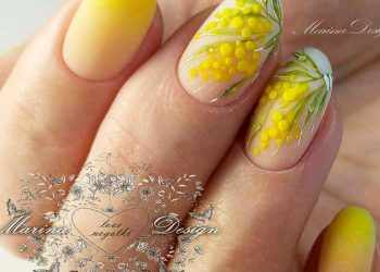 JamAdvice_com_ua_Drawings-on-nails-for-summer-yellow-flowers-nails-oval-3d-mimosa