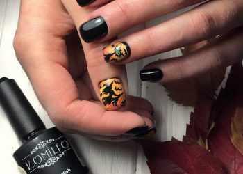 Красивые рисунки на коротких ногтях