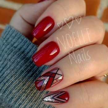 JamAdvice_com_ua_nail-art-red-with-silver_3