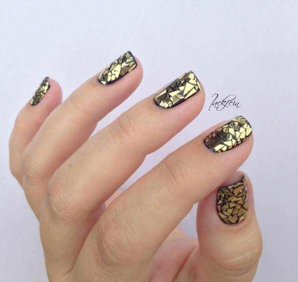 Осенний дизайн ногтей 2020