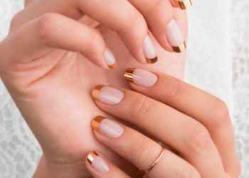 JamAdvice_com_ua_Manicure-french-and-moon-manicure-round-nails-designs-gold-french-tips