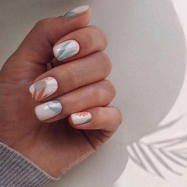 Новинки модного дизайна ногтей