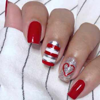 JamAdvice_com_ua_nail-art-red-with-silver_5