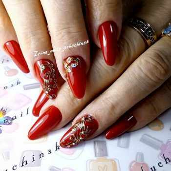 JamAdvice_com_ua_nail-art-red-with-gold_6