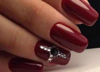 JamAdvice_com_ua_claret-manicure-with-rhinestones-18