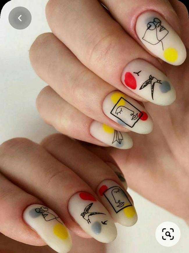 Стемпинг - модные ногти