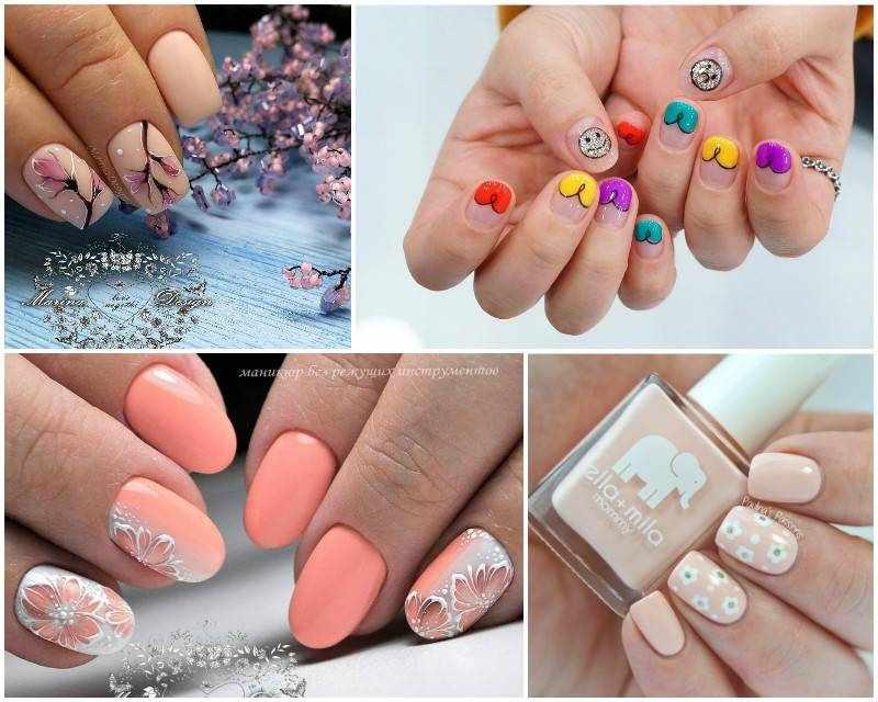 Весенний маникюр: 150 фото красивого дизайна ногтей