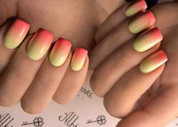 JamAdvice_com_ua_Summer-manicure-ombre-hottest-summer-nail-colors-yellow-coral-ombre