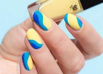 JamAdvice_com_ua_Bright-summer-manicure-round-nails-designs-yellow-base-blue-tips