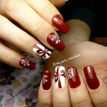 JamAdvice_com_ua_dark-red-nail-art_4