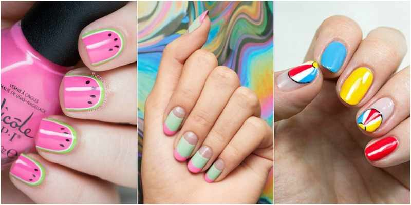 24 идеи маникюра на лето: живые рисунки на ногтях