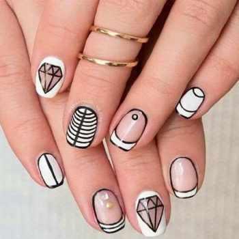 JamAdvice_com_ua_black_and_white_manicure_for_short_nails_2